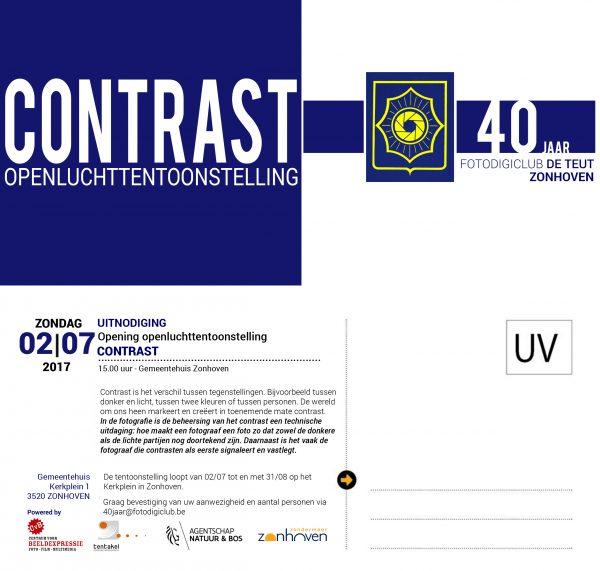 Opening Openluchttentoonstelling CONTRAST tgv 40-jarig bestaan fotodigiclub De Teut - Zonhoven @ Gemeentehuis Zonhoven | Zonhoven | Vlaanderen | België