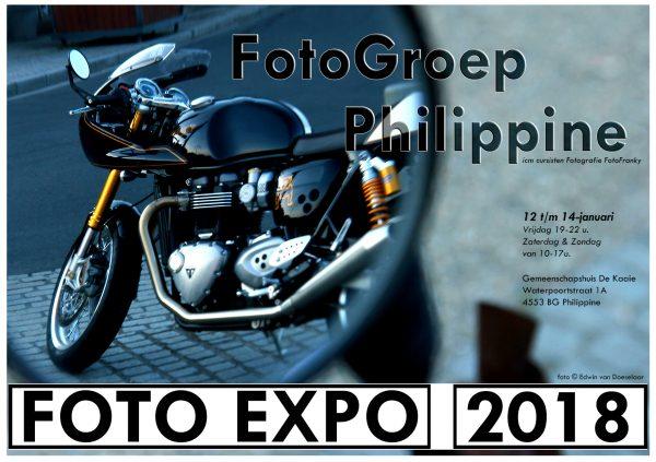 """Uitnodiging opening fototentoonstelling fotogroep Philippine @ Gemeenschapscentrum """"De Kaaie""""   Geertruidenberg   Noord-Brabant   Nederland"""