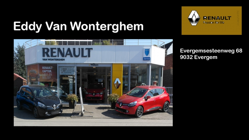 Renault - Garage Eddy Van Wonterghem