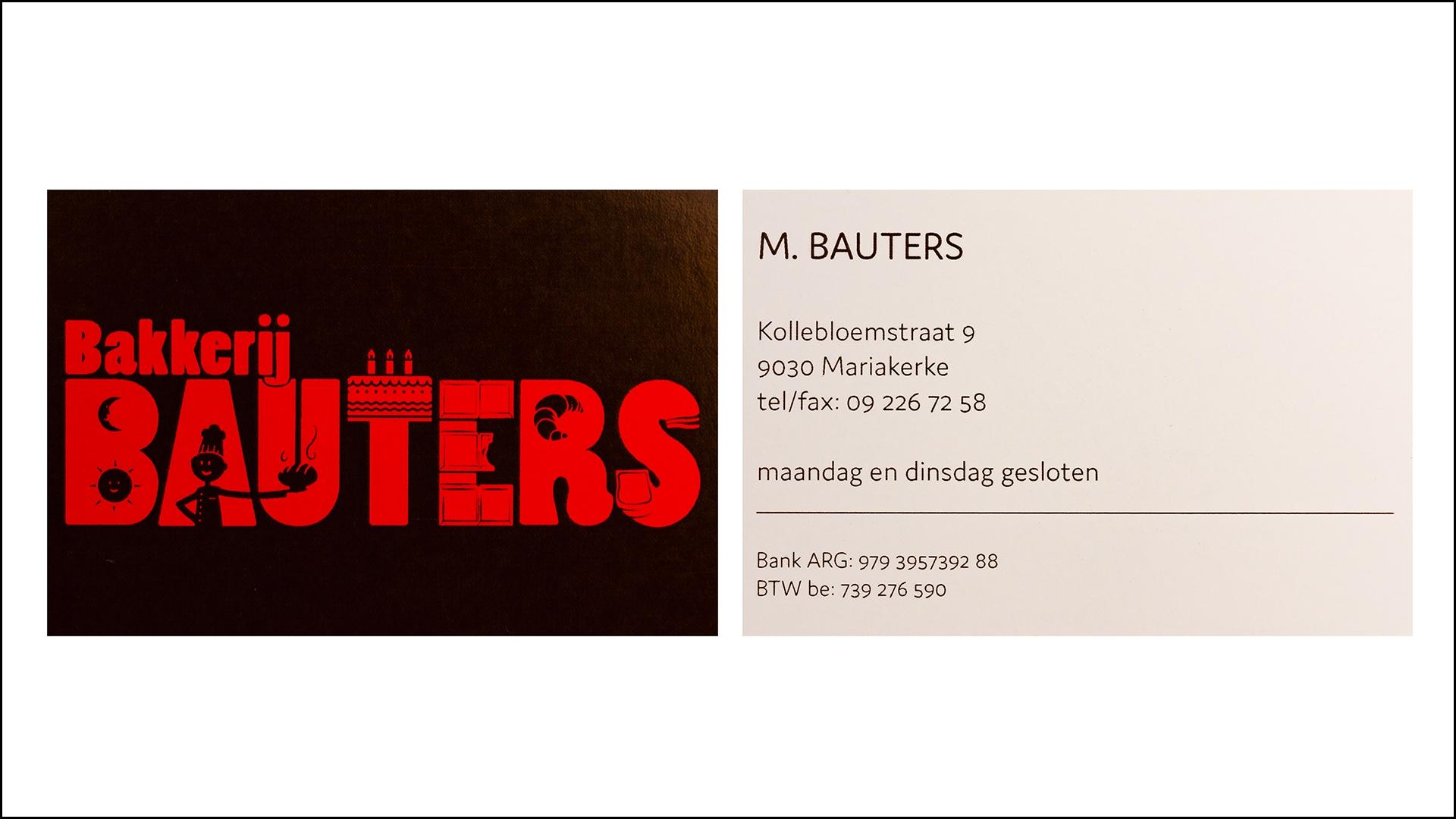 Bakkerij Bauters © 2018
