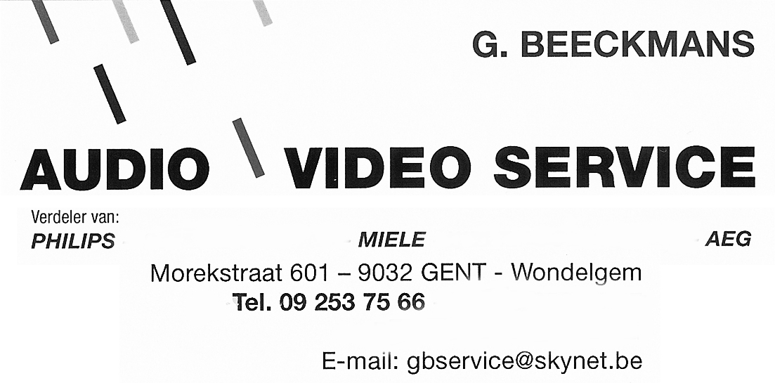 Audio video service © 2018