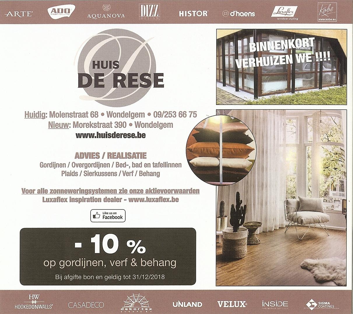 Huis De Rese © 2018
