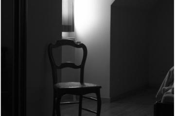Slaapkamer Dirk Braeckman © Patrick Haegens