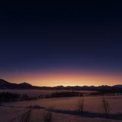 Poolcirkel zonsondergang © Steven Warmoes