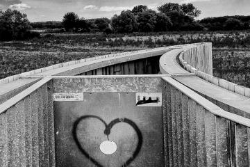 Een hart in de natuur © Ulric Demeter