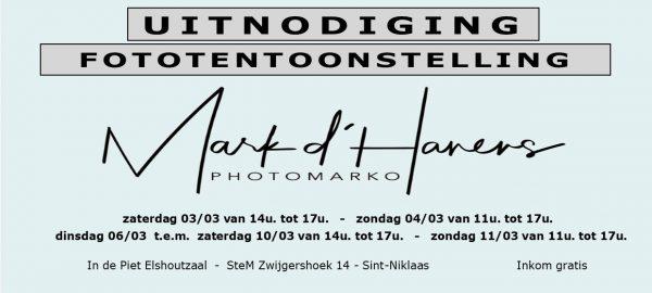 Fototentoonstelling Mark d'Hanens - Sint-Niklaas @ Piet Elshoutzaal - SteM | Sint-Niklaas | Vlaanderen | België