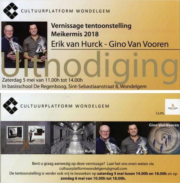Uitnodiging Opening Tentoonstelling Cultuurplatform Wondelgem @ Basisschool De Regenboog | Gent | Vlaanderen | België