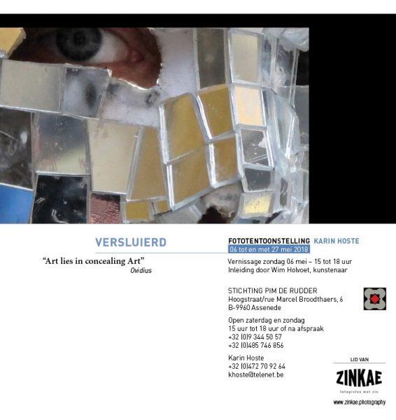 VERSLUIERD - Fototentoonstelling Karin Hoste @ Stichting Pim De Rudder | Assenede | Vlaanderen | België