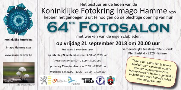 "Opening Fotosalon K. Fotokring Imago Hamme @ Gem feestzaal ""Den Bond"" | Hamme | Vlaanderen | België"