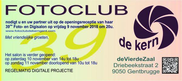 Opening Fotosalon fotoclub De Kern - Gentbrugge @ De Vierde Zaal