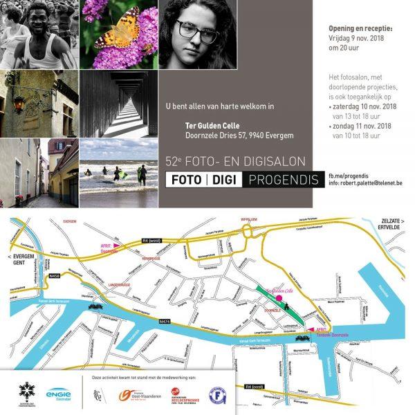 Vernissage Fototentoonstelling PROGENDIS - Fotoclub Evergem @ Ter Gulden Celle