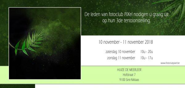 Fototentoonstelling Fotoclub PiXel @ Huize De Meerleer   Sint-Niklaas   Vlaanderen   België