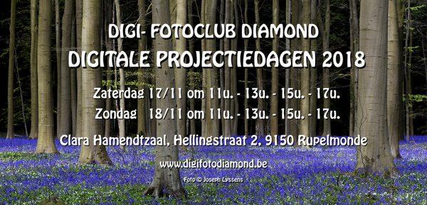 Digitale projectiedagen fotoclub Diamond Rupelmonde @ Clara Hamendtzaal   Kruibeke   Vlaanderen   België