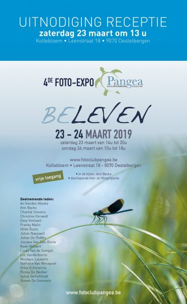 Opening foto-expo Pangea Destelbergen : BELEVEN @ Zaal Kollebloem | Destelbergen | Vlaanderen | België