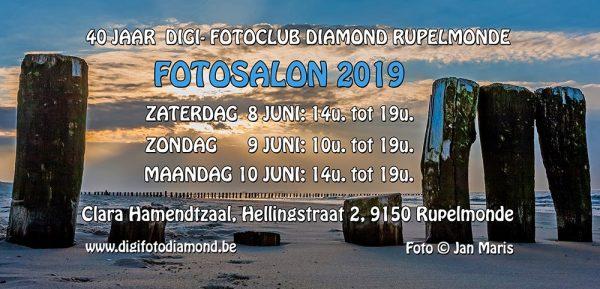 Uitnodiging Diamond Fotosalon - Rupelmonde @ Clara Hamendtzaal   Kruibeke   Vlaanderen   België