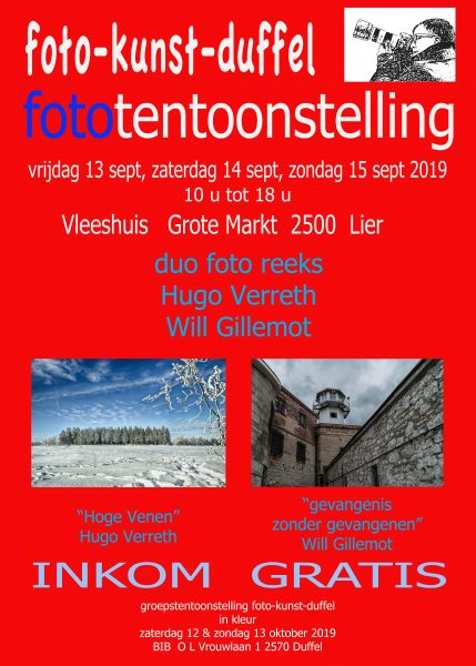 Duo Fototentoonstelling Foto-Kunst-Duffel @ BIB | Duffel | Vlaanderen | België