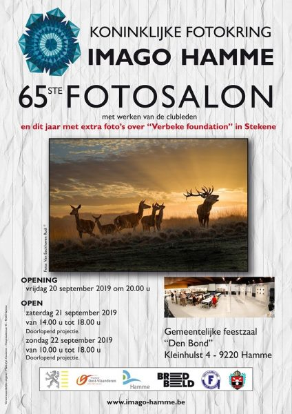 "Uitnodiging opening Fototentoonstelling Koninklijke Fotokring Imago Hamme @ Gem. feestzaal ""Den Bond"" | Hamme | België"