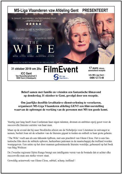 Uitnodiging FilmEvent 2019 MS-Liga Gent @ ICC Gent | Gent | Vlaanderen | België