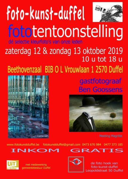 Fototentoonstelling foto-kunst-duffel @ Beethovenzaal BIB | Duffel | Vlaanderen | België