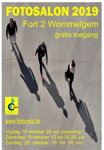 Uitnodiging Opening fotosalon fotoclub CREA Wommelgem @ FORT II | Wommelgem | Vlaanderen | België
